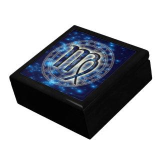 Astro Symbol Virgo Trinket Box