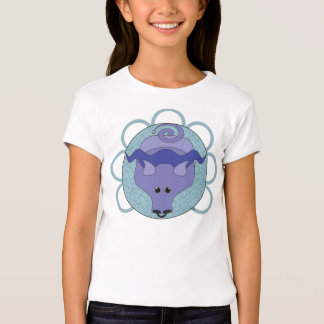 Astrobabies Taurus Bull Fitted Girls T-Shirt