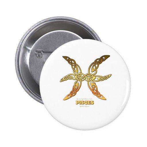 Astrocelt  series Pisces Buttons