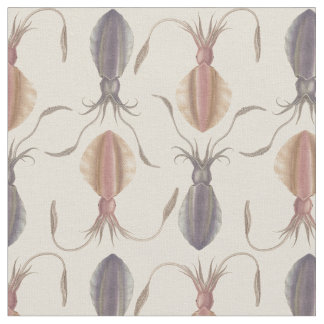 Astrolabe Molluscs (purple) Fabric
