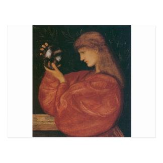 Astrologia by Edward Burne-Jones Postcard