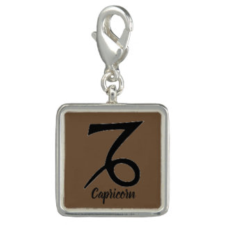 Astrological Sign Bracelet Charm Capricorn