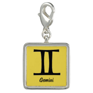 Astrological Sign Bracelet Charm Gemini