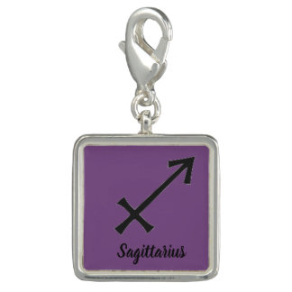 Astrological Sign Bracelet Charm  Sagittarius