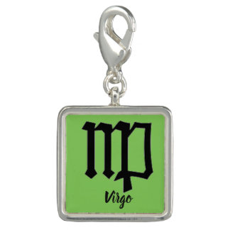 Astrological Sign Bracelet Charm  Virgo