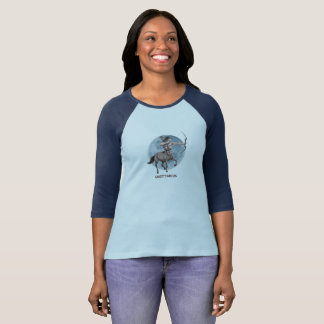 Astrological sign Sagittarius for Women's T shirt. T-Shirt