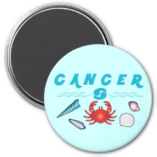 Astrological Signs of the Zodiac: Cancer Fridge Magnet