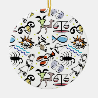 Astrological Signs of the Zodiac Ornament