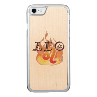 Astrological Signs of the Zodiac: Leo Carved iPhone 7 Case
