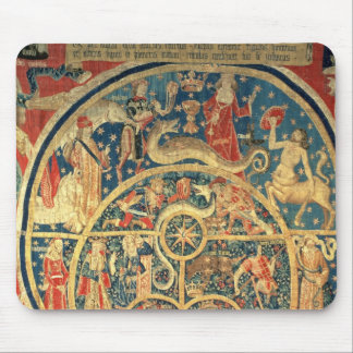 Astrological tapestry mouse pad