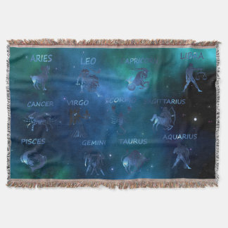 Astrological Throw Blanket