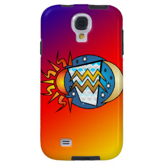 astrology,Aquarius Galaxy S4 Case