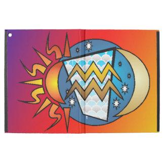 """astrology,Aquarius iPad Pro 12.9"""" Case"""