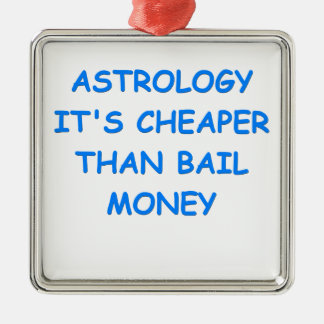 astrology christmas ornament