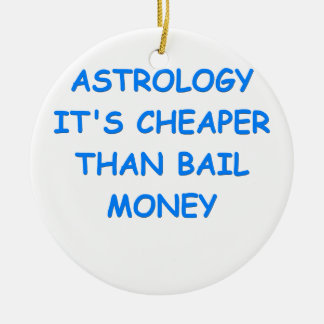 astrology christmas tree ornaments