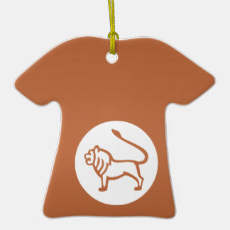 ASTROLOGY Collection Ceramic T-Shirt Ornament