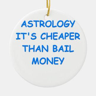 astrology christmas tree ornaments