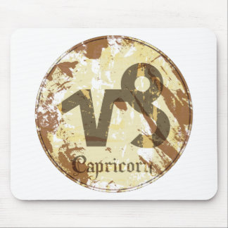 Astrology Grunge Capricorn Mouse Pads