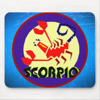 Astrology Horoscope Sign Scorpio Mouse Pad