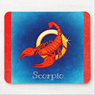 Astrology Horoscope Sign Scorpio Mouse Pad