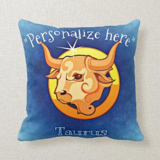 Astrology Horoscope Taurus Decorative Throw P Throw Pillow