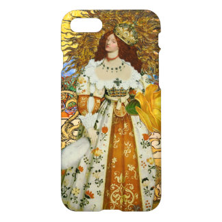 Astrology Leo Medieval Princess Fantastical Whimsy iPhone 7 Case