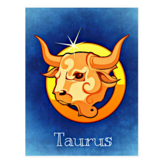Astrology Sign Taurus Postcard