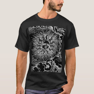 Astrology Sun and Moon by Albrecht Durer T-Shirt