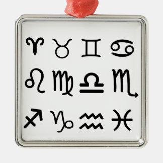 Astrology Symbols Ornaments
