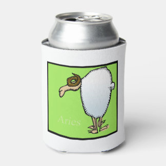 Astrology Zodiac Aries Sign Birthday Can Cooler