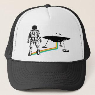 Astronaut Alien UFO Trucker Hat