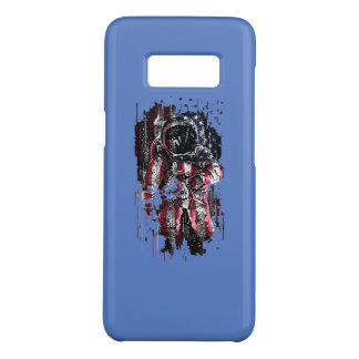 Astronaut and american flag Case-Mate samsung galaxy s8 case