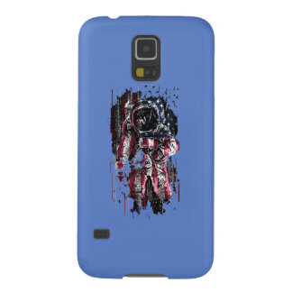 Astronaut and american flag cases for galaxy s5
