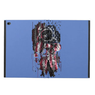 Astronaut and american flag powis iPad air 2 case