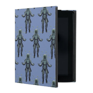 Astronaut and butterfly iPad case