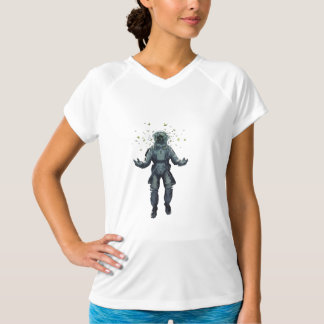 Astronaut and butterfly T-Shirt