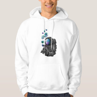 Astronaut and planets hoodie