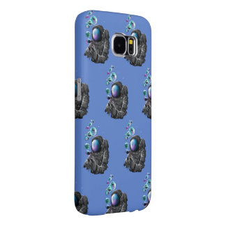 Astronaut and planets samsung galaxy s6 cases