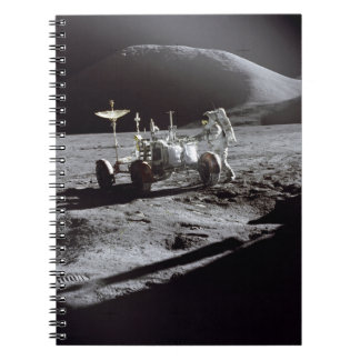Astronaut and Rover Notebook
