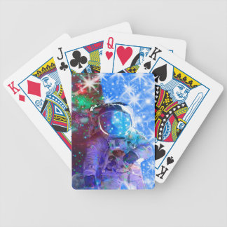 Astronaut Dimensions Bicycle Playing Cards