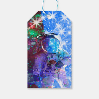 Astronaut Dimensions Gift Tags
