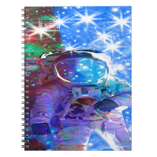 Astronaut Dimensions Notebook