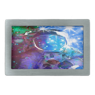 Astronaut Dimensions Rectangular Belt Buckles