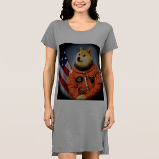 astronaut dog  - doge - shibe - doge memes dress