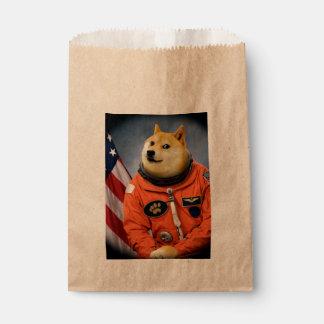 astronaut dog  - doge - shibe - doge memes favour bag