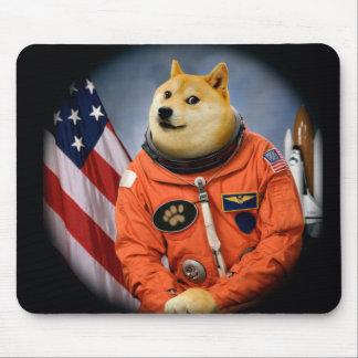 astronaut dog  - doge - shibe - doge memes mouse pad