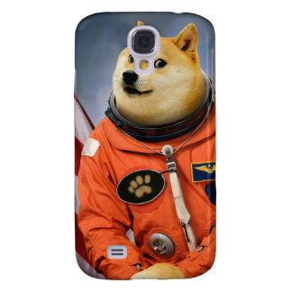 astronaut dog  - doge - shibe - doge memes samsung galaxy s4 cover