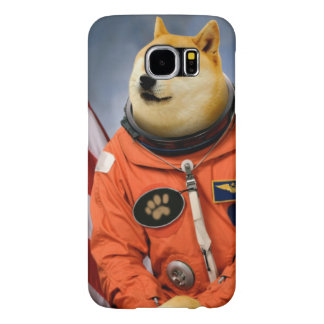 astronaut dog  - doge - shibe - doge memes samsung galaxy s6 cases