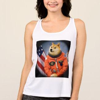 astronaut dog  - doge - shibe - doge memes singlet