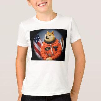 astronaut dog  - doge - shibe - doge memes T-Shirt